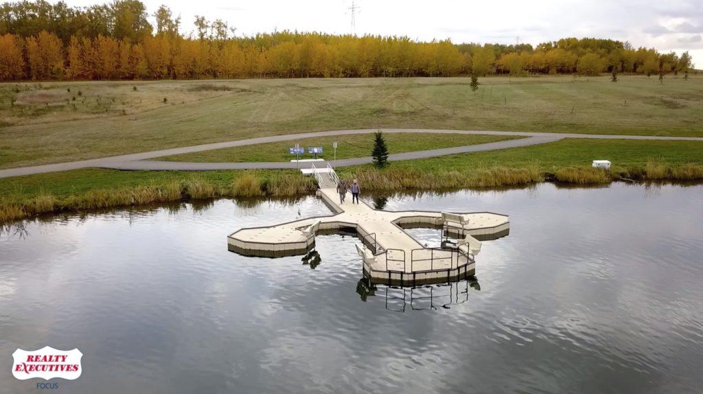 Fort Saskatchewan Park Dock